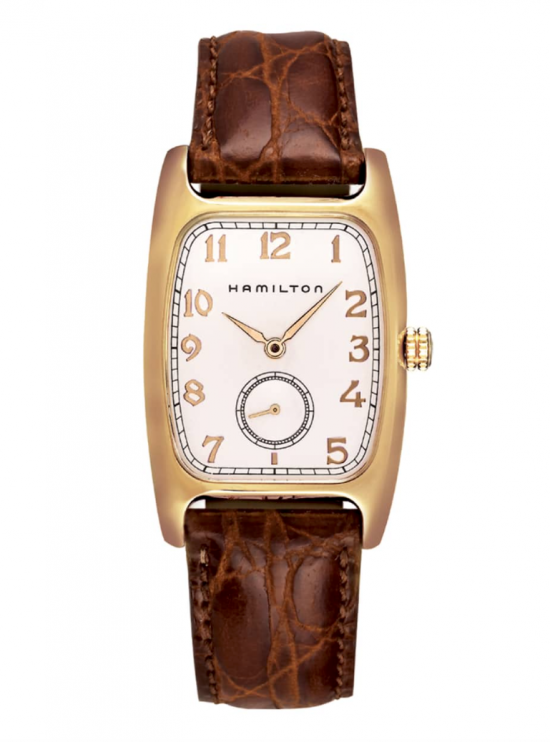 American Classic Boulton Leather Strap Watch