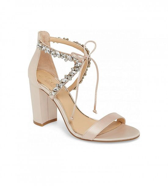 Jeweled Badgley Mischka Sandals
