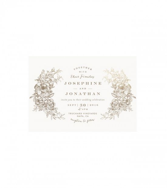 Custom Wedding Invitations on Minted