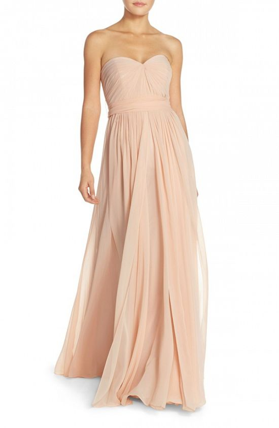 'Mira' Convertible Strapless Gown