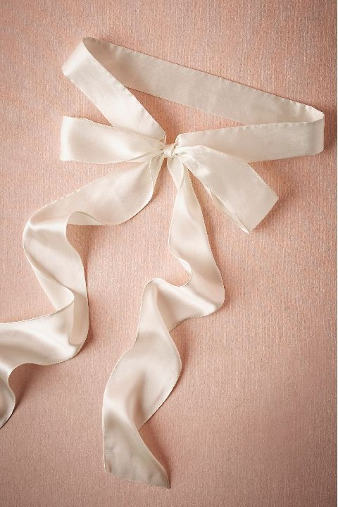BHLDN Simply Silk Sash