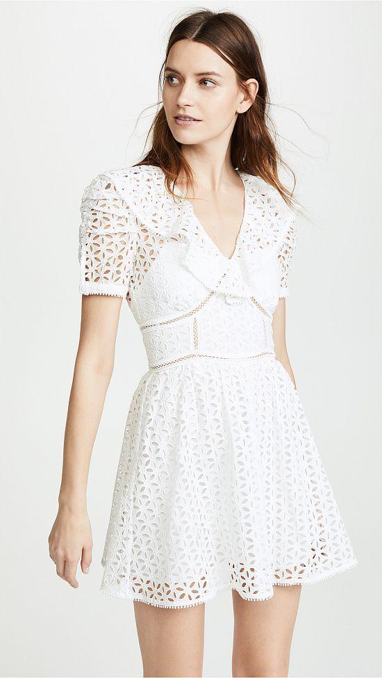 Mini Eyelet Dress