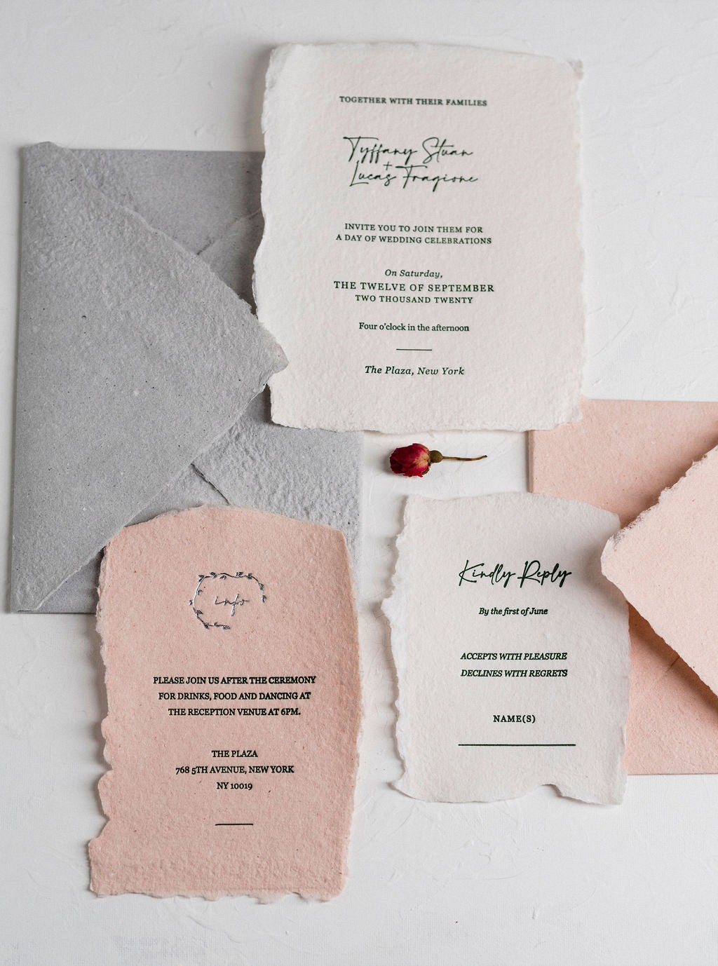 Handmade Paper - The New Wedding Stationery Trend for 2021