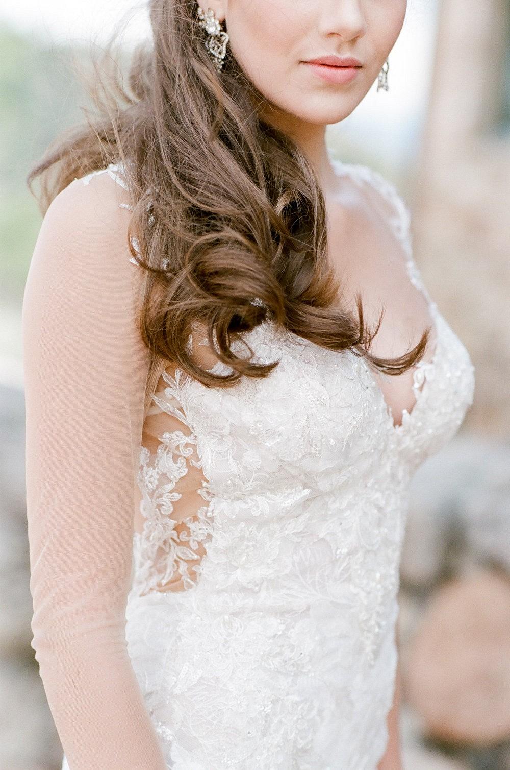 Lace Galia Lahav Wedding Gown