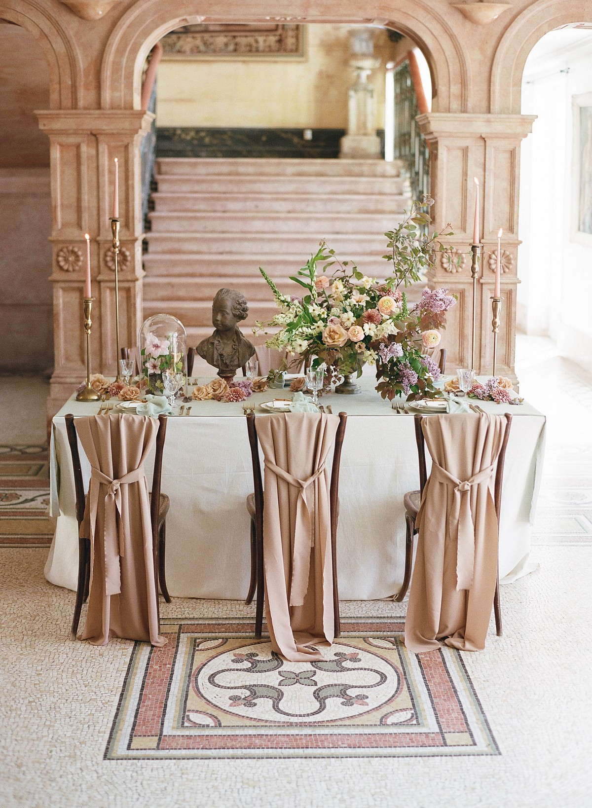 French Wedding Inspiration in Rich Jewel Tones