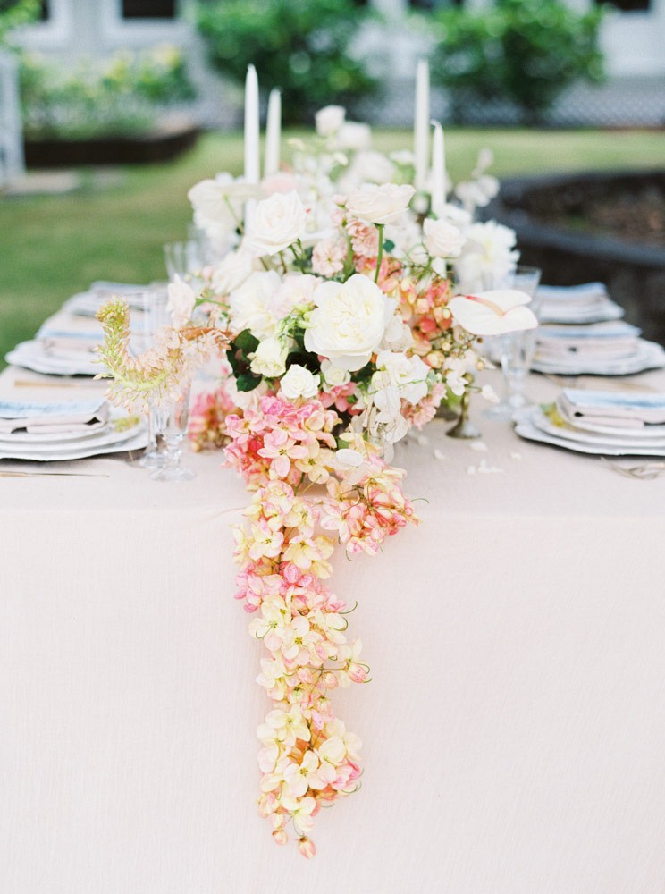 Feminine and Neutral Wedding Inspiration in Hawaii