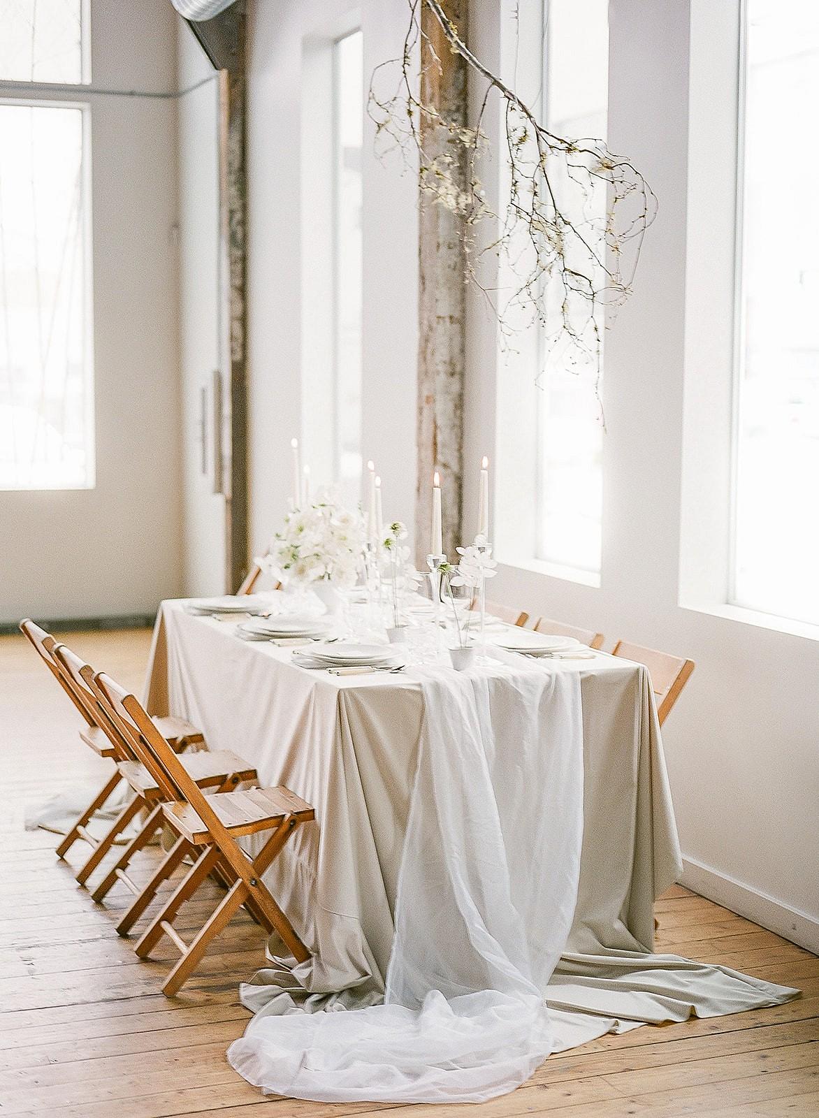 Contemporary Swan Lake Bridal Inspiration