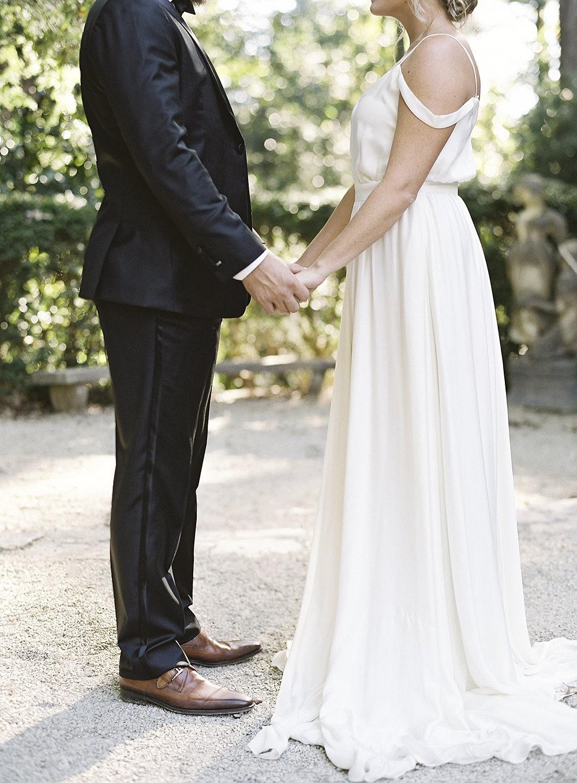 Garden Style Seasonal Wedding Inspiration at the Swan House