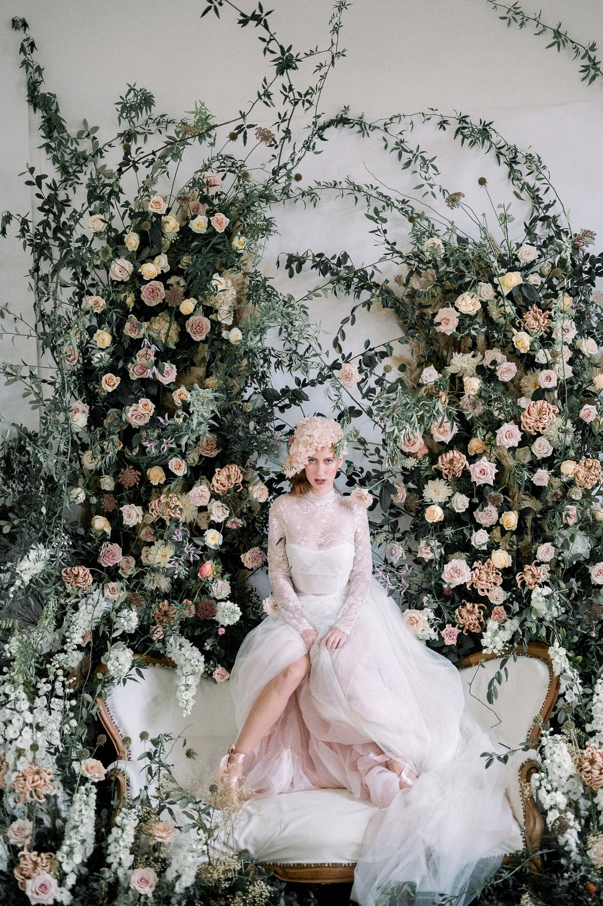Opulent Florals and Provencial Wedding Style