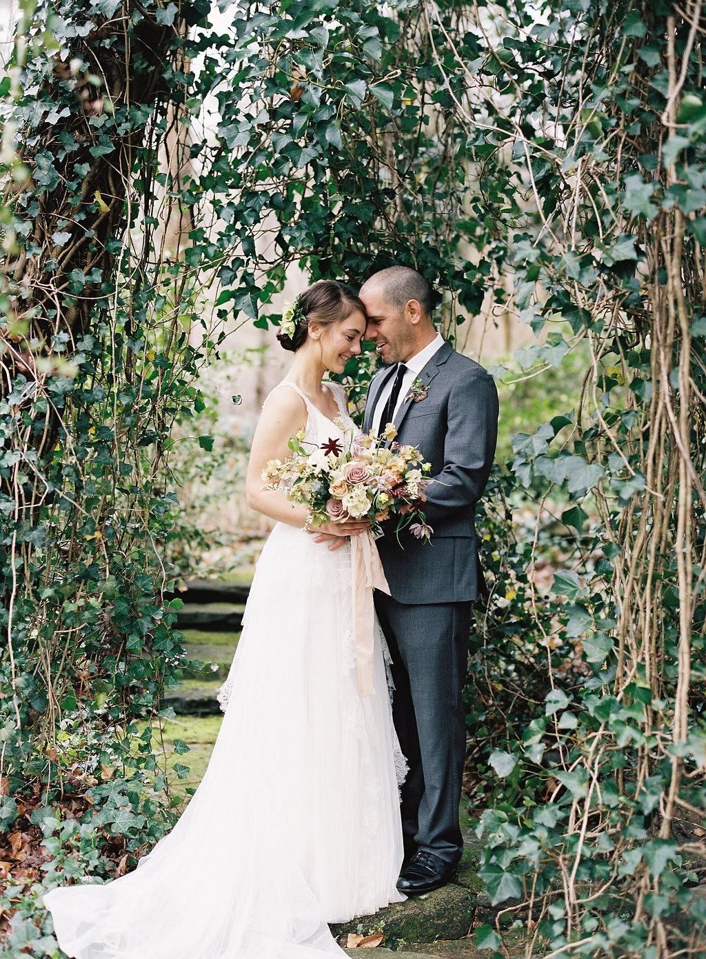 Hannah and Matt's Intimate Garden Wedding at Serenbe