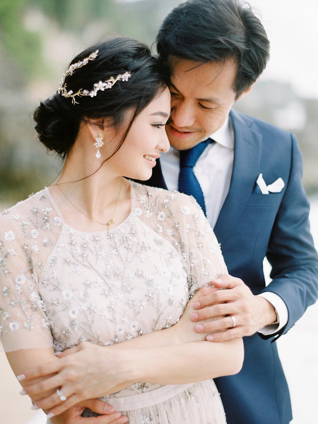 Mia and David's Cliff Top Wedding in Bali