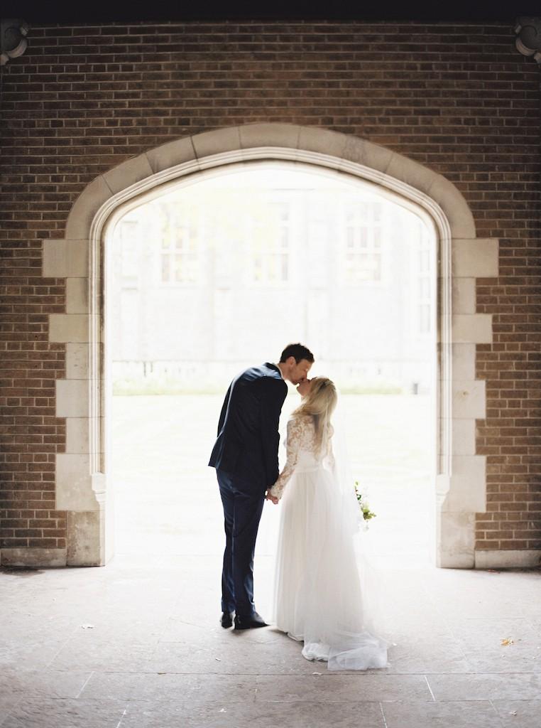 Informal Toronto City Wedding on a Rainy Day