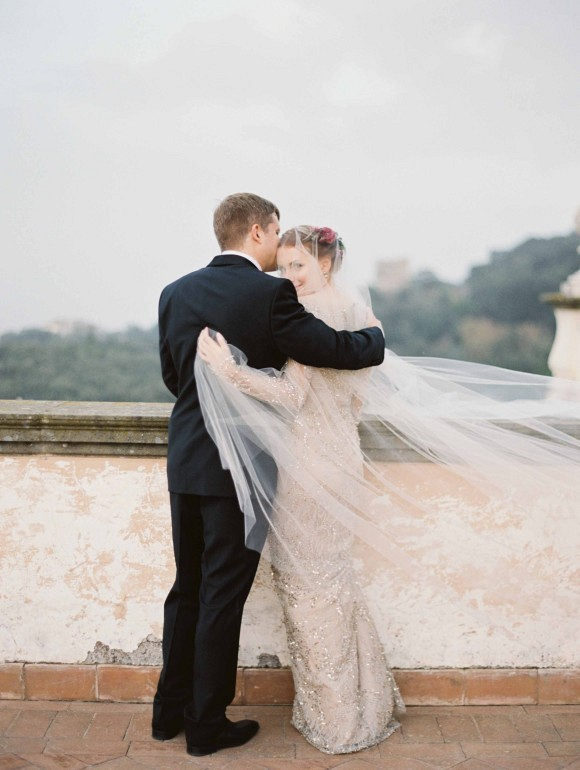 Elegant Destination Real Wedding in Rome Italy by Erich McVey on Wedding Sparrow
