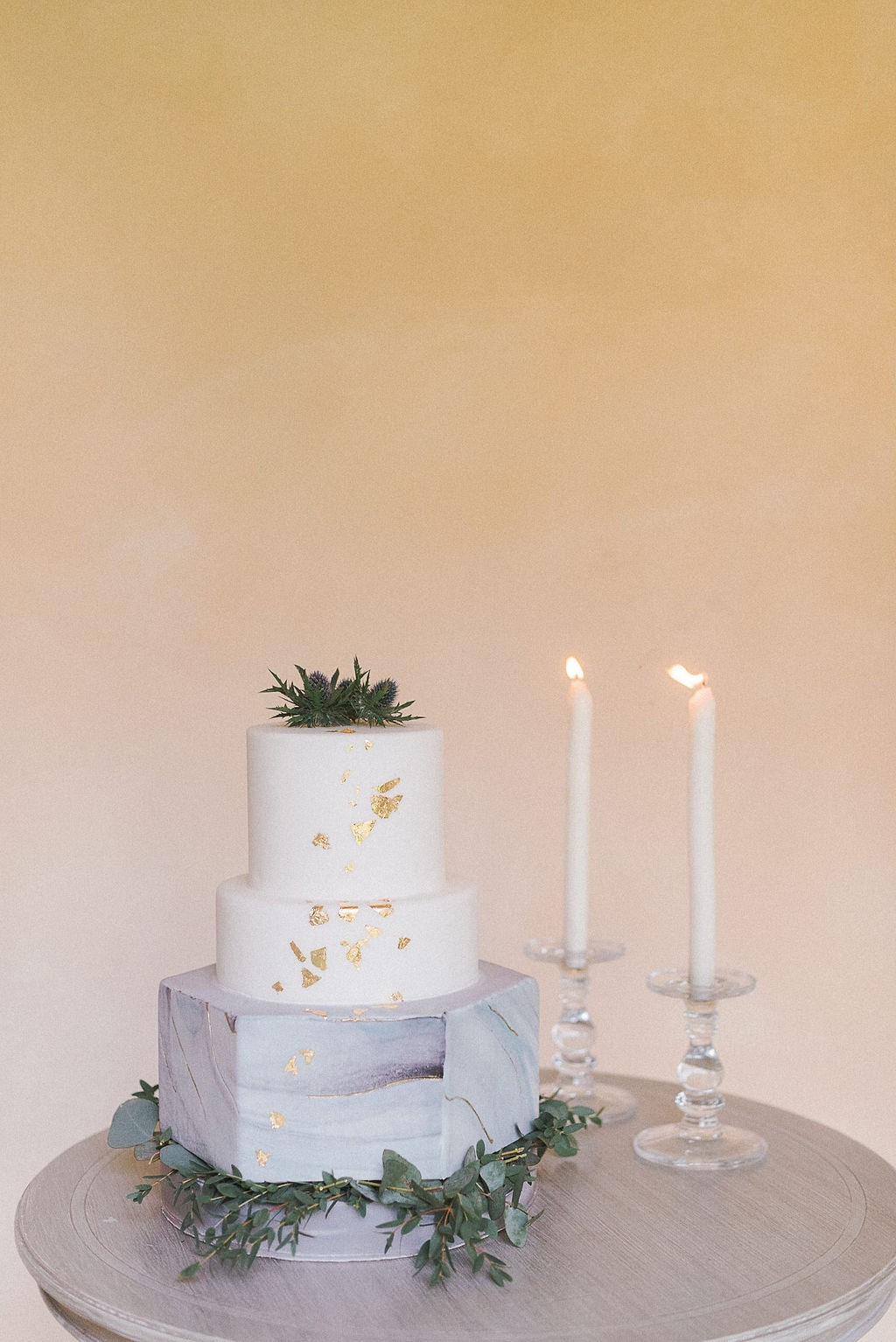 Classic Tuscany Wedding Style with Vintage Car