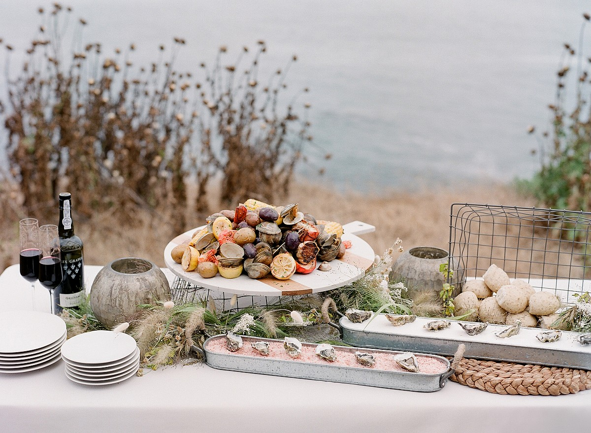Misty Wedding on the California Coastline