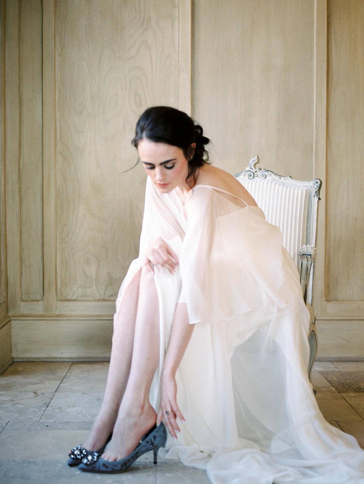 Pale Blue Wedding Inspiration with European Charm