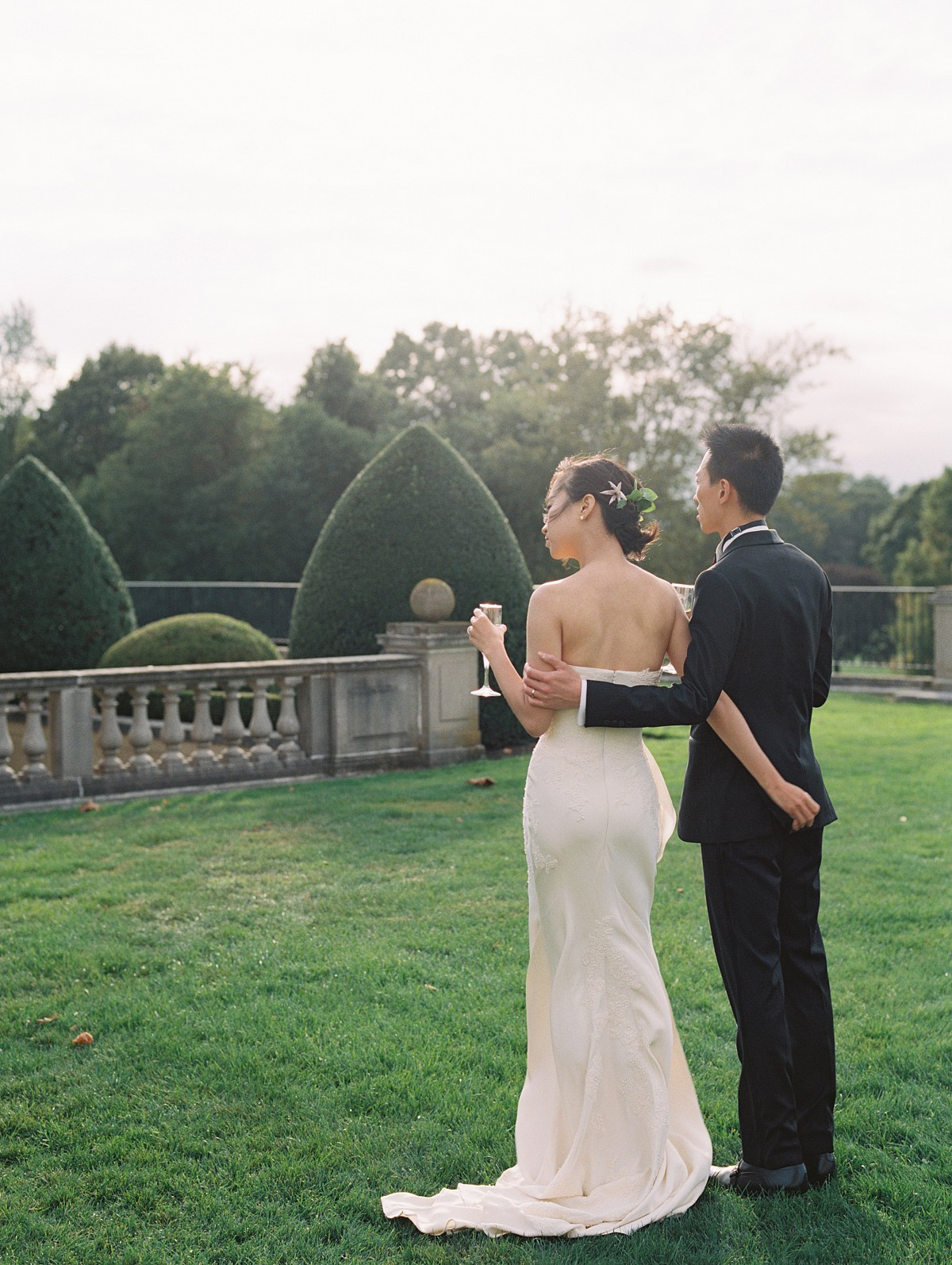NY Castle Wedding with Chinese Tea Ceremony