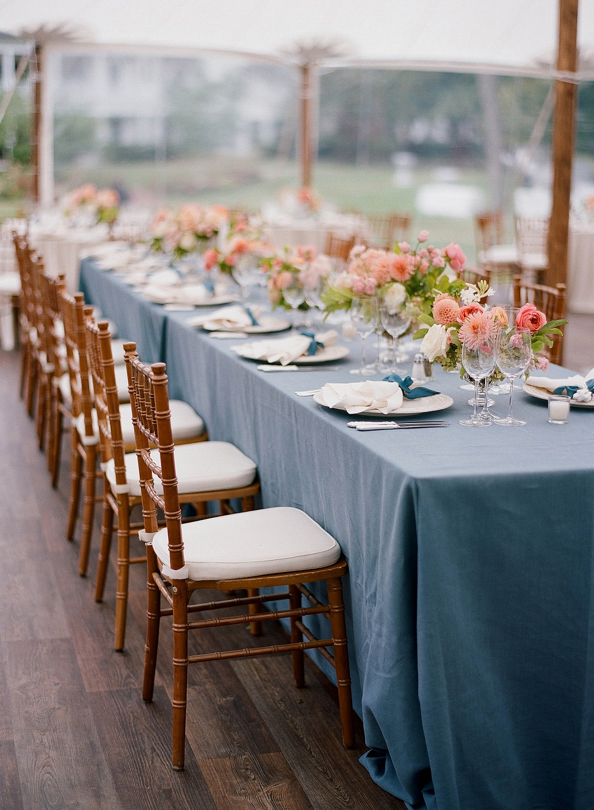Cozy Fall Wedding at the Inn at Perry Cabin