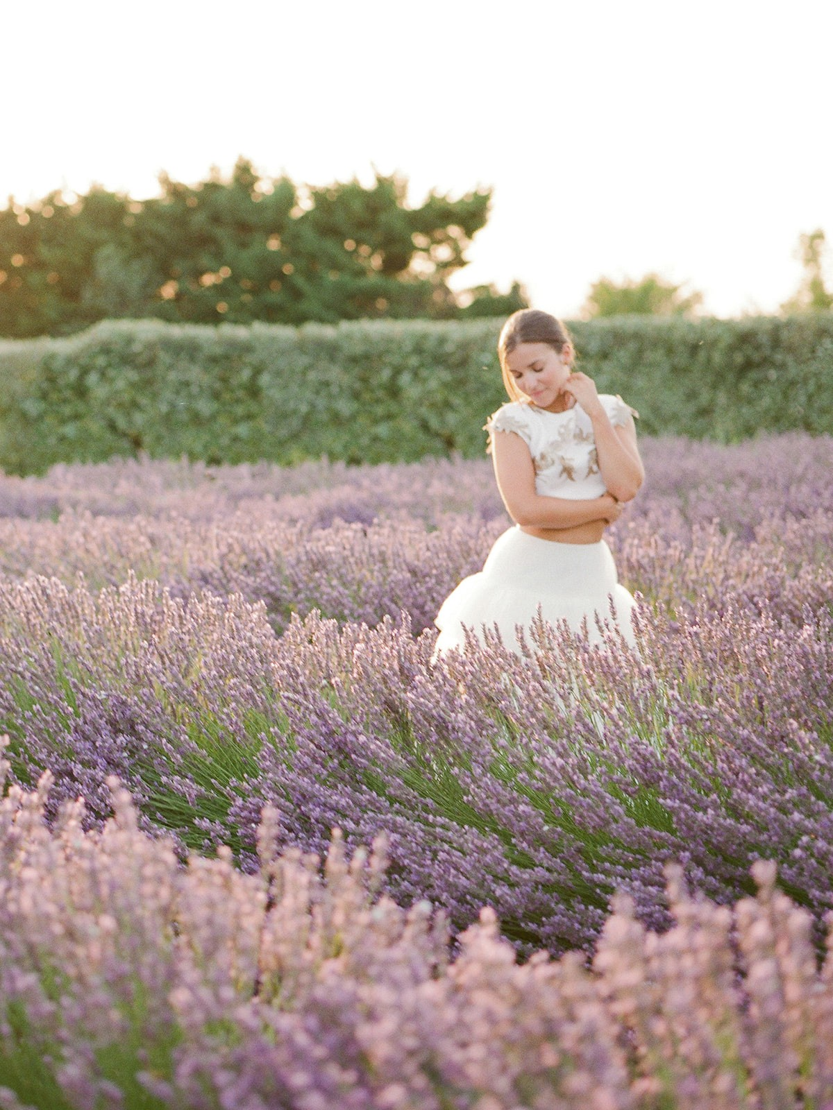 A Pop of Color for a South of France Wedding