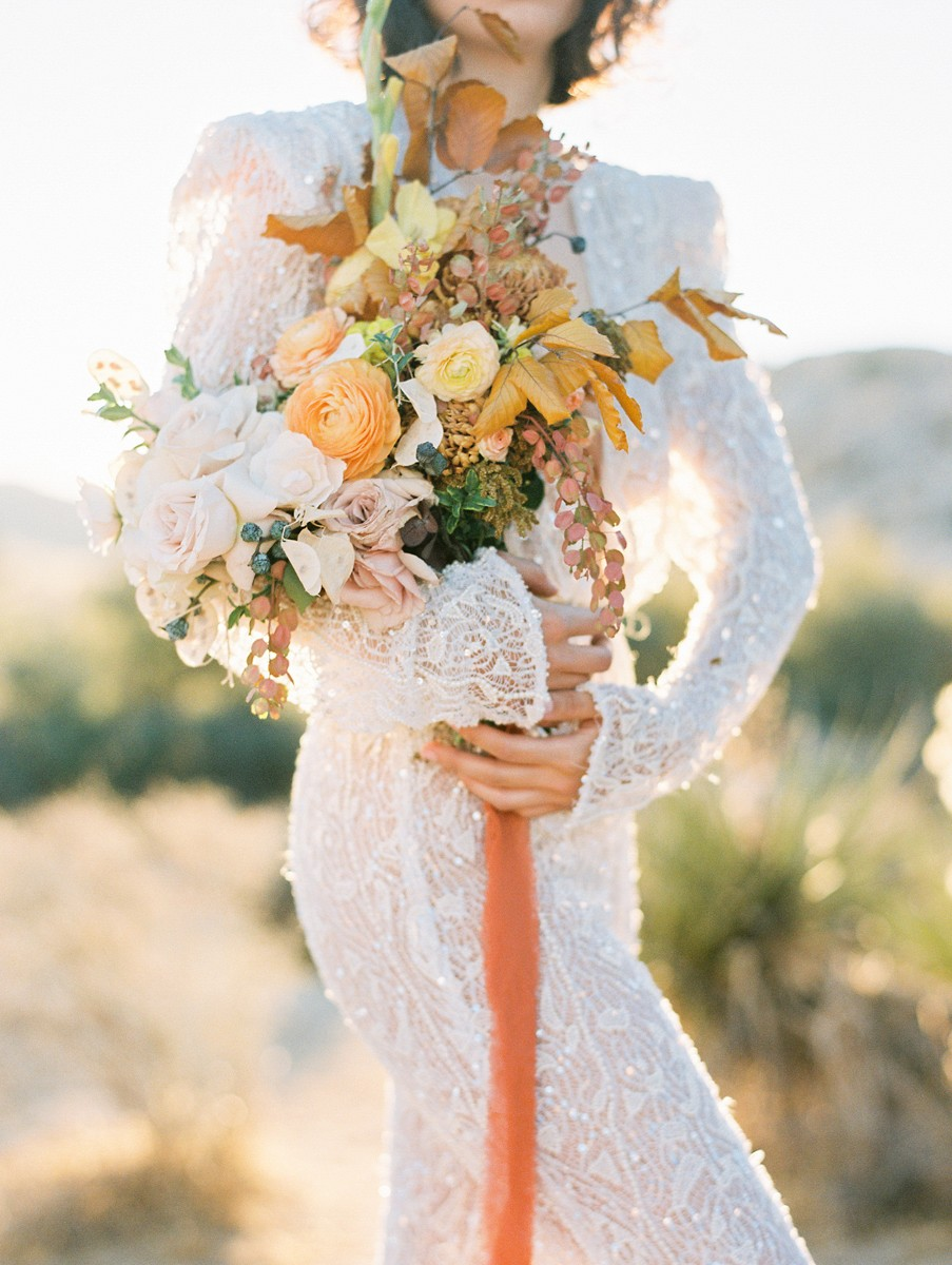 How to Style the Perfect Joshua Tree Engagement Session