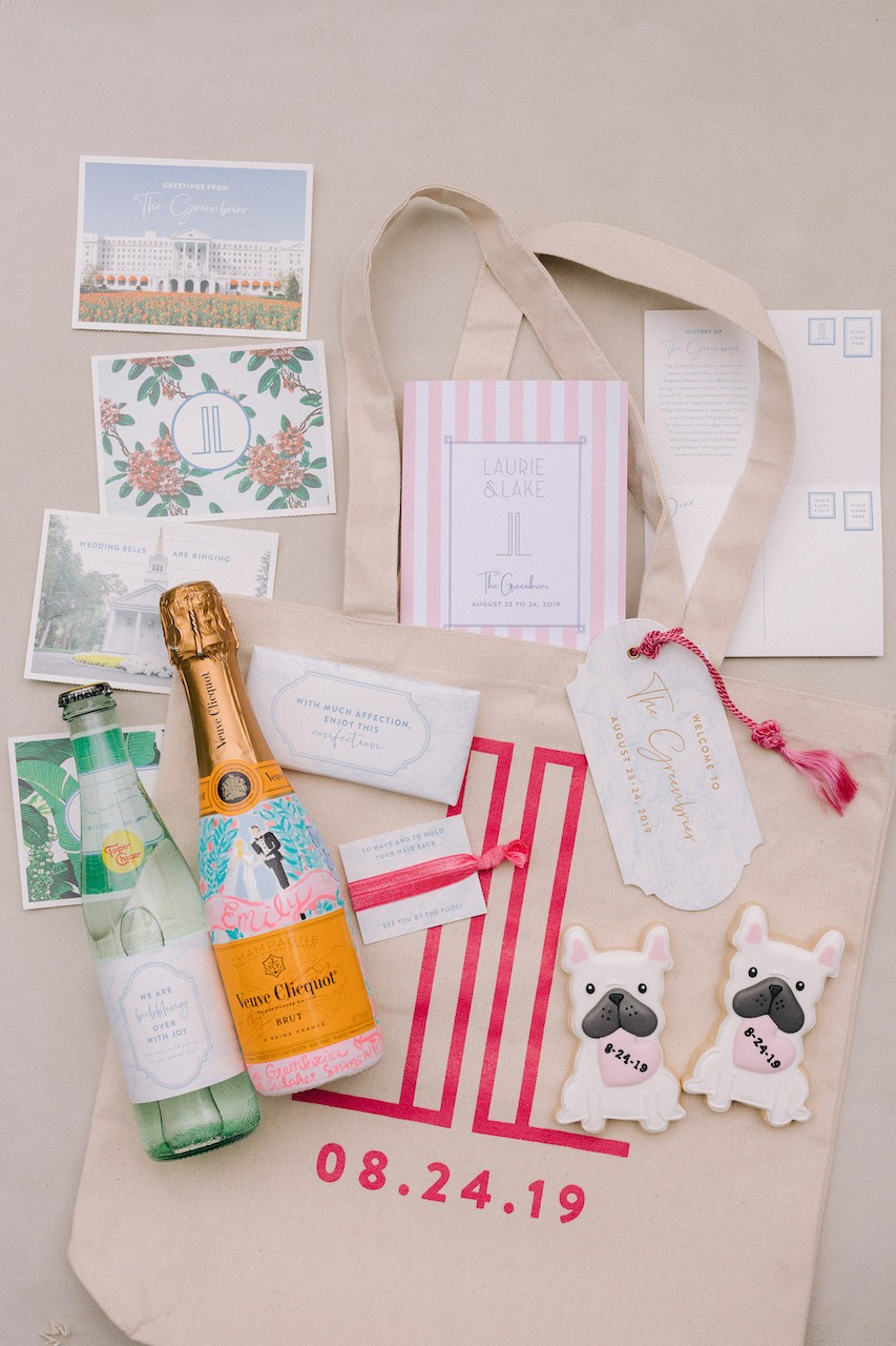 Welcome Bag Ideas Wedding
