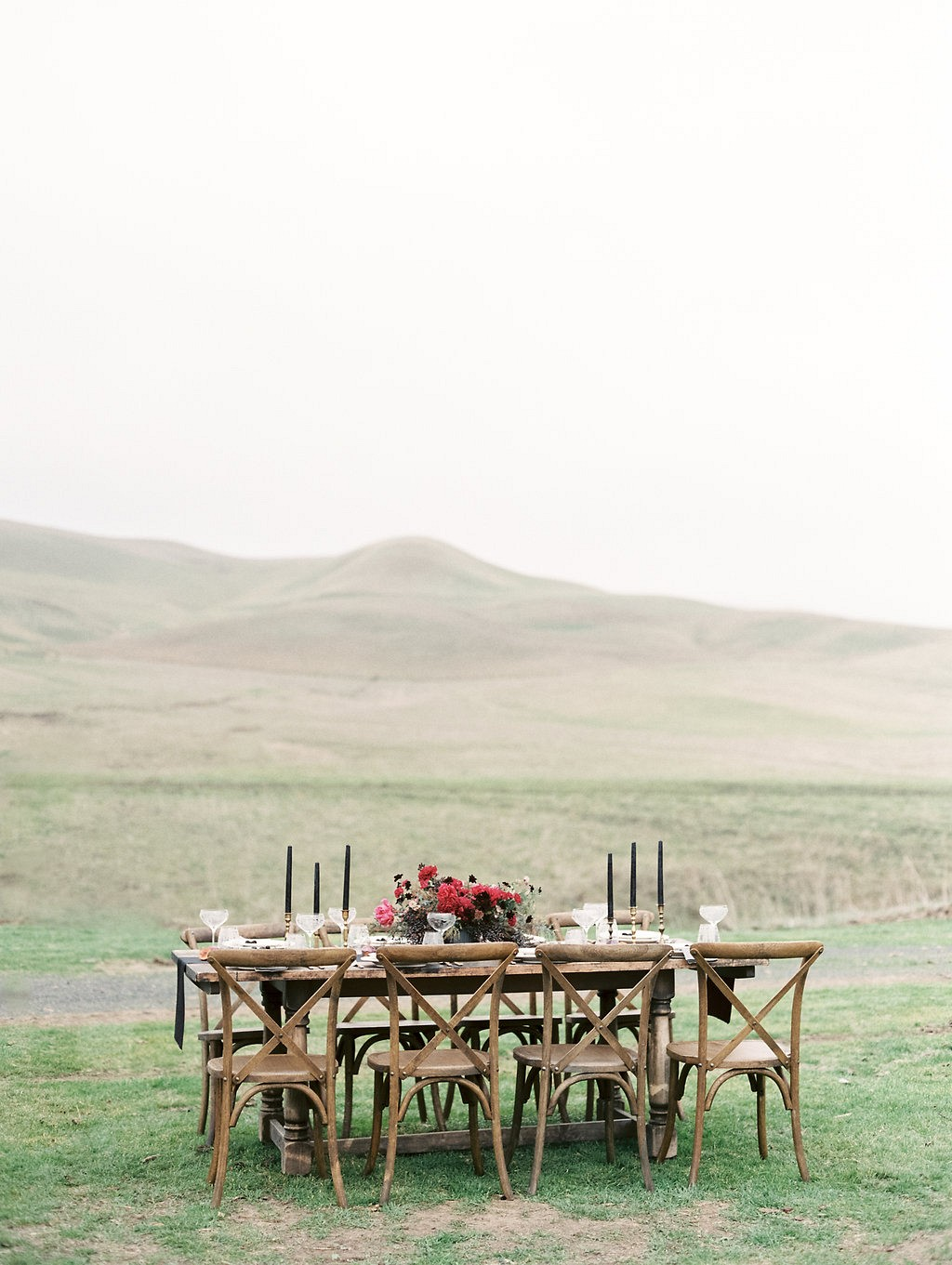 Jewel Toned Ranch Wedding