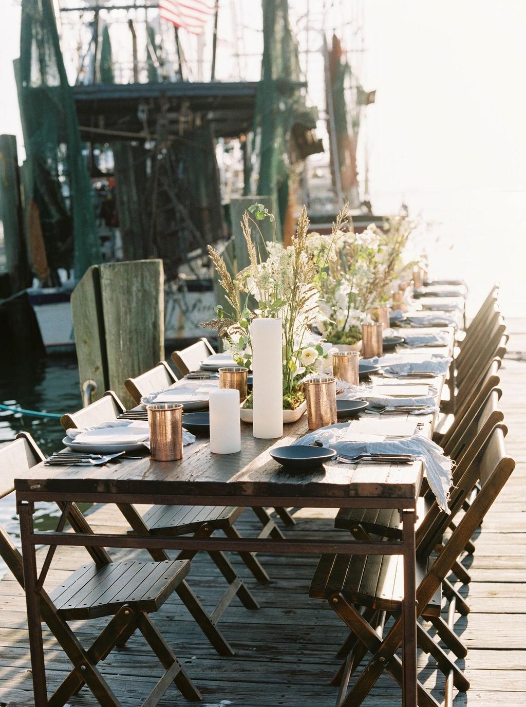 Workshop Vero : Charleston Harbourside Wedding Inspiration