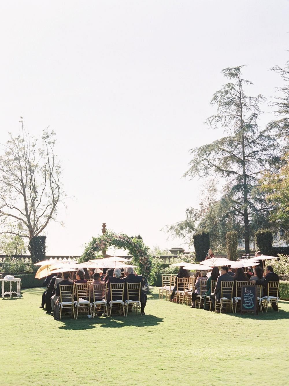 Autumnal Beverly Hills Wedding