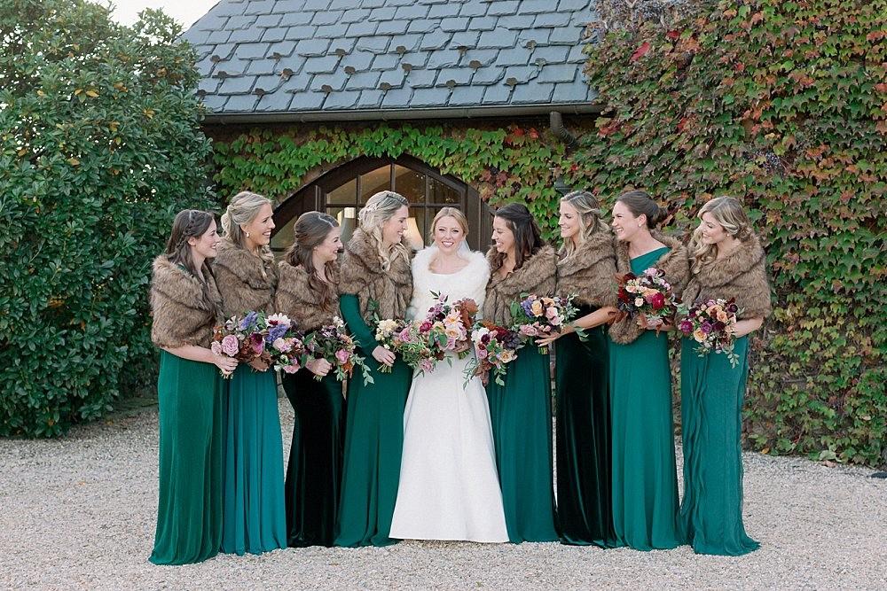 Winter Wedding with Jewel Tone Florals