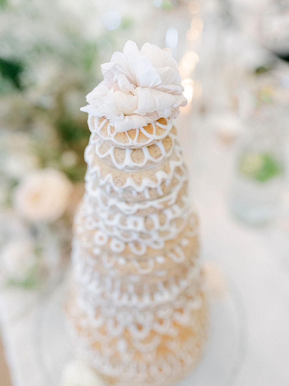 Kransekake Scandinavian wedding cake