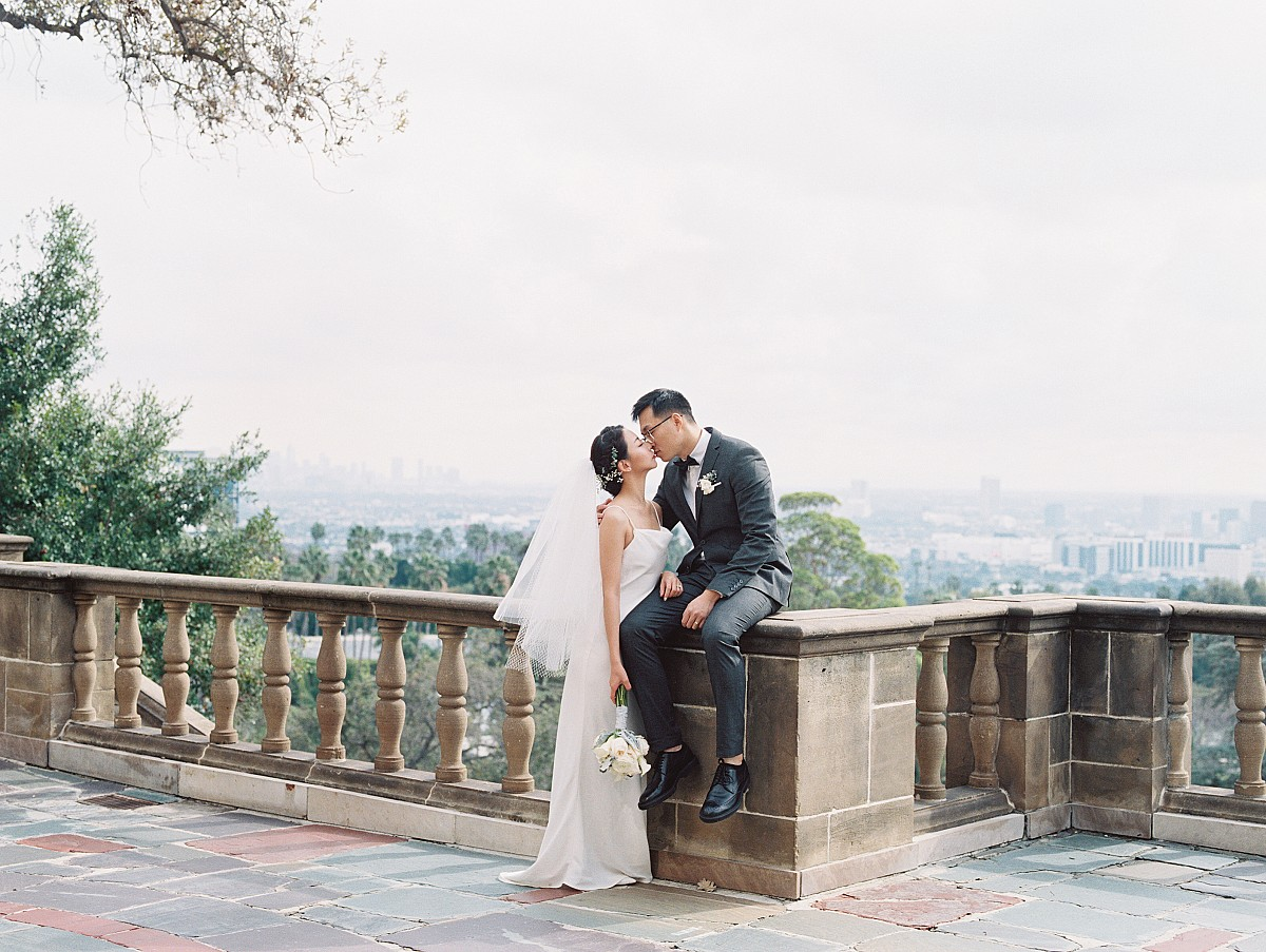 Glamorous Pre-Wedding Shoot in a Beverly Hills Mansion