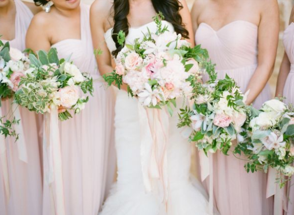 25 Best Bridesmaid Dresses for the Fine Art Bride | Jose Villa