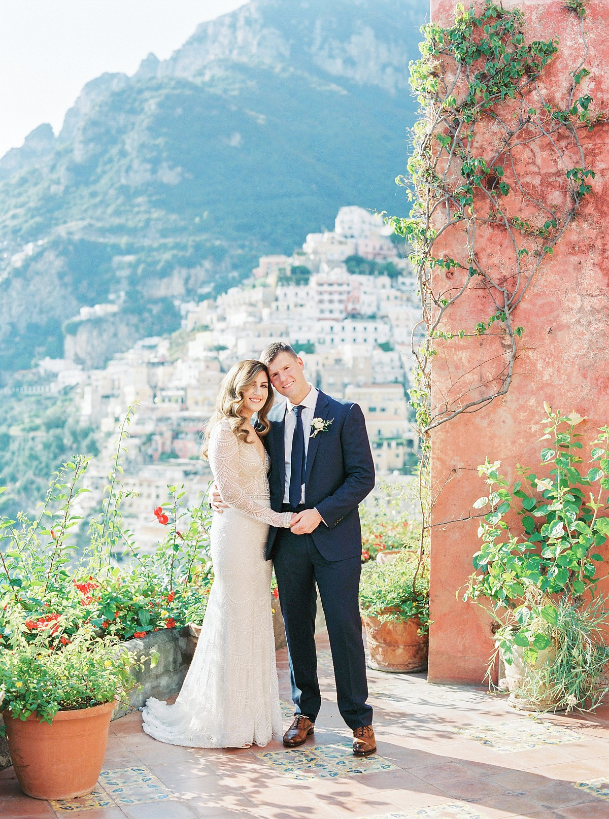 Intimate Micro Wedding on the Cliffs of Positano