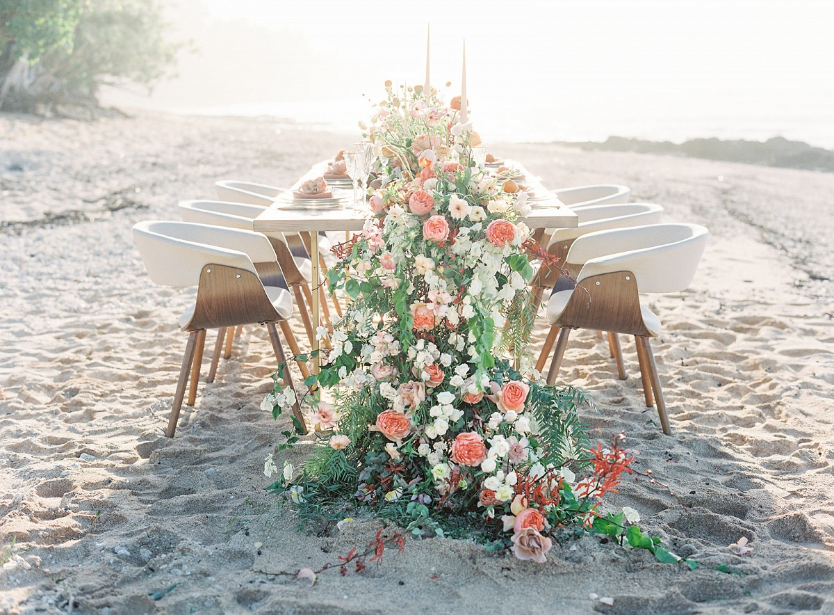 Modern and Colorful Hawaii Wedding Inspiration
