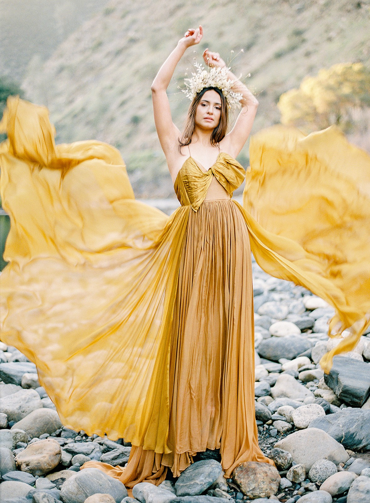 Fall Inspired Editorial in Yosemite National Park