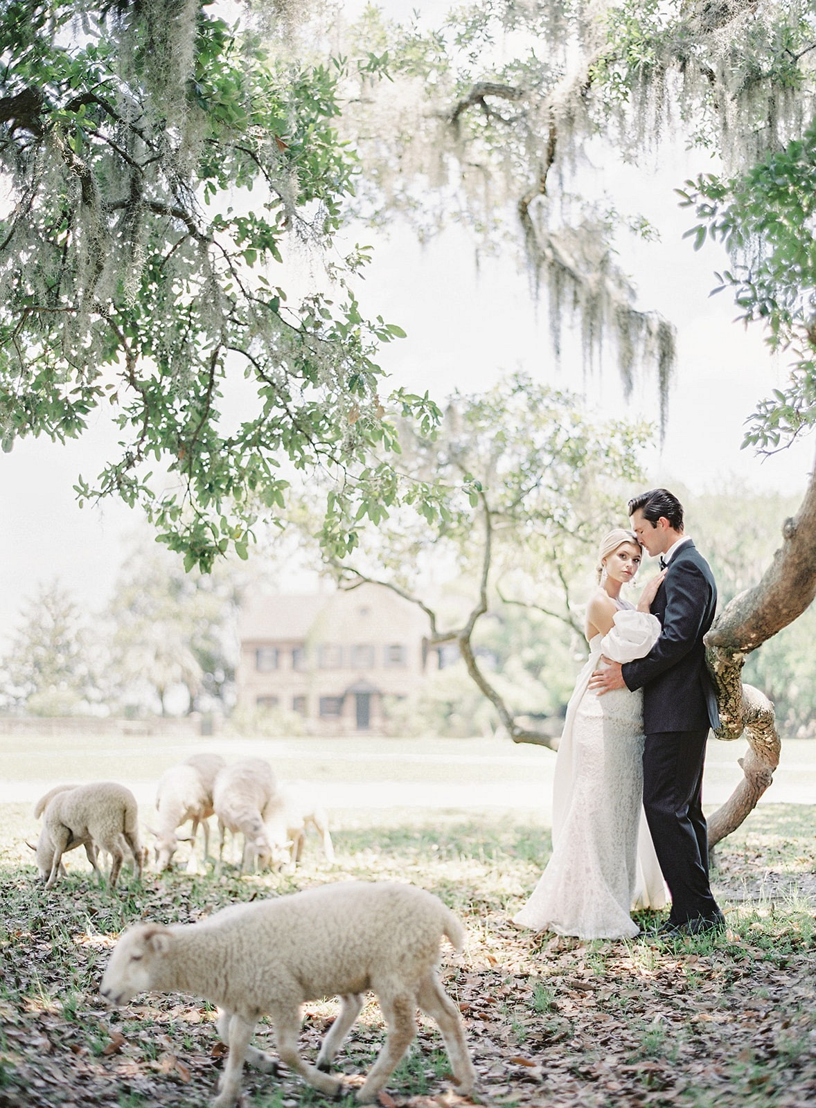 Bygone Luxe Wedding Inspiration in Charleston