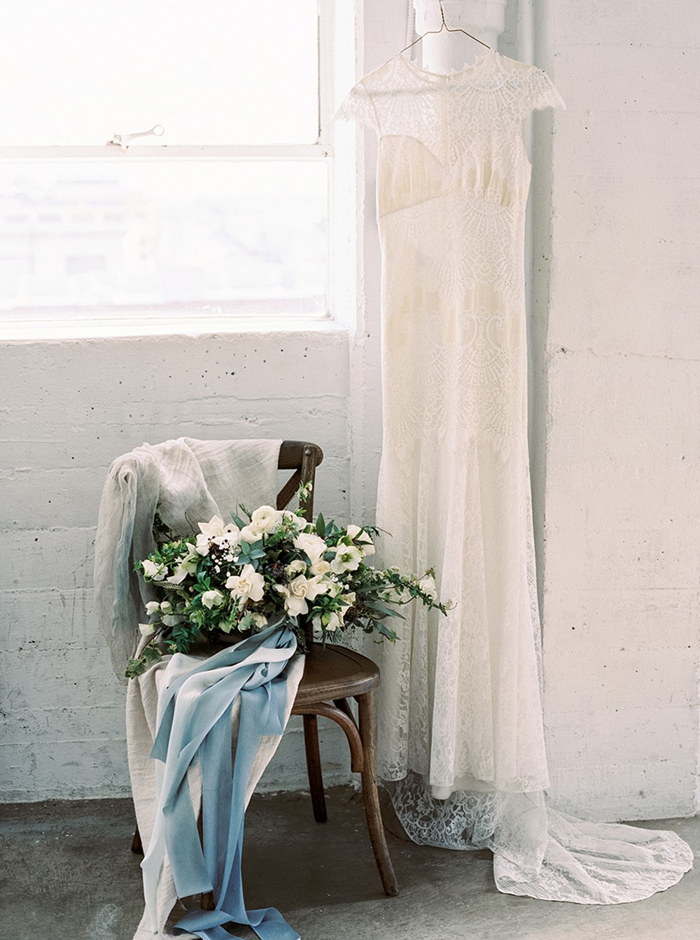 Ethereal Bridal Style with a Clean, minimal aesthetic