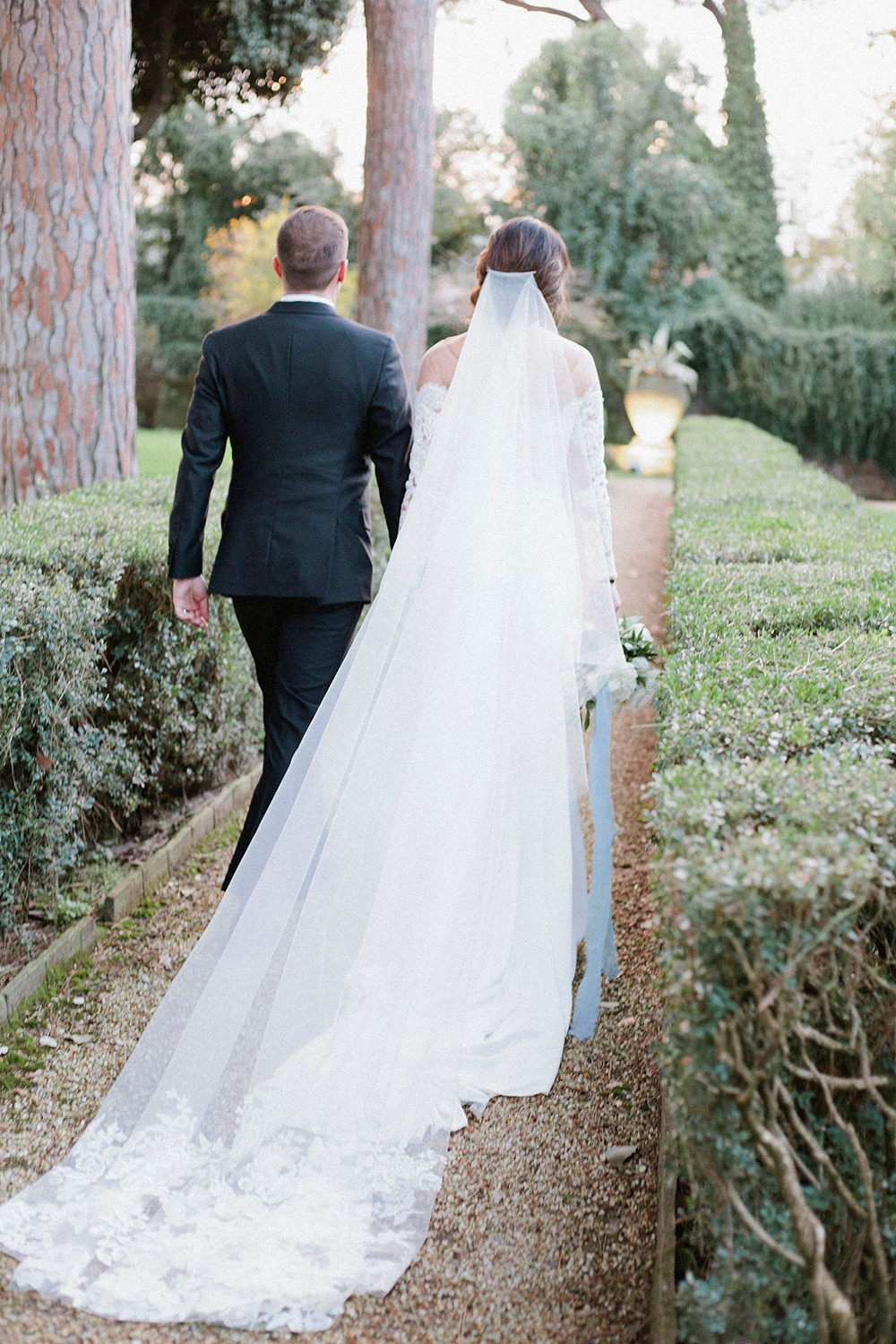 Luxury All White Wedding in Italy