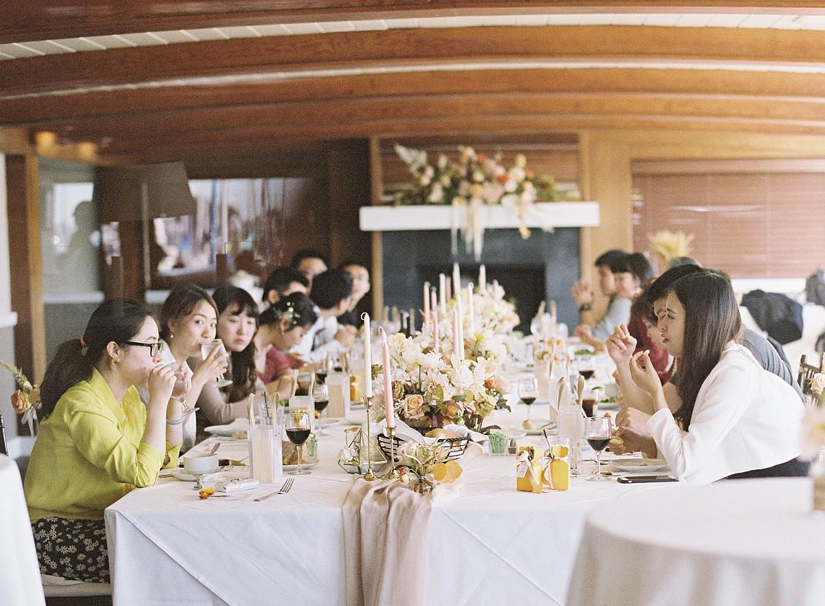 Intimate Wedding in Stunning Glass Chapel - Wayfarers Chapel