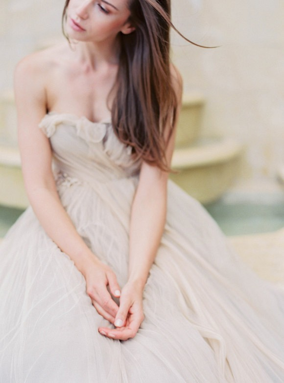 Outdoor Bridal Inspiration in a Ball Gown