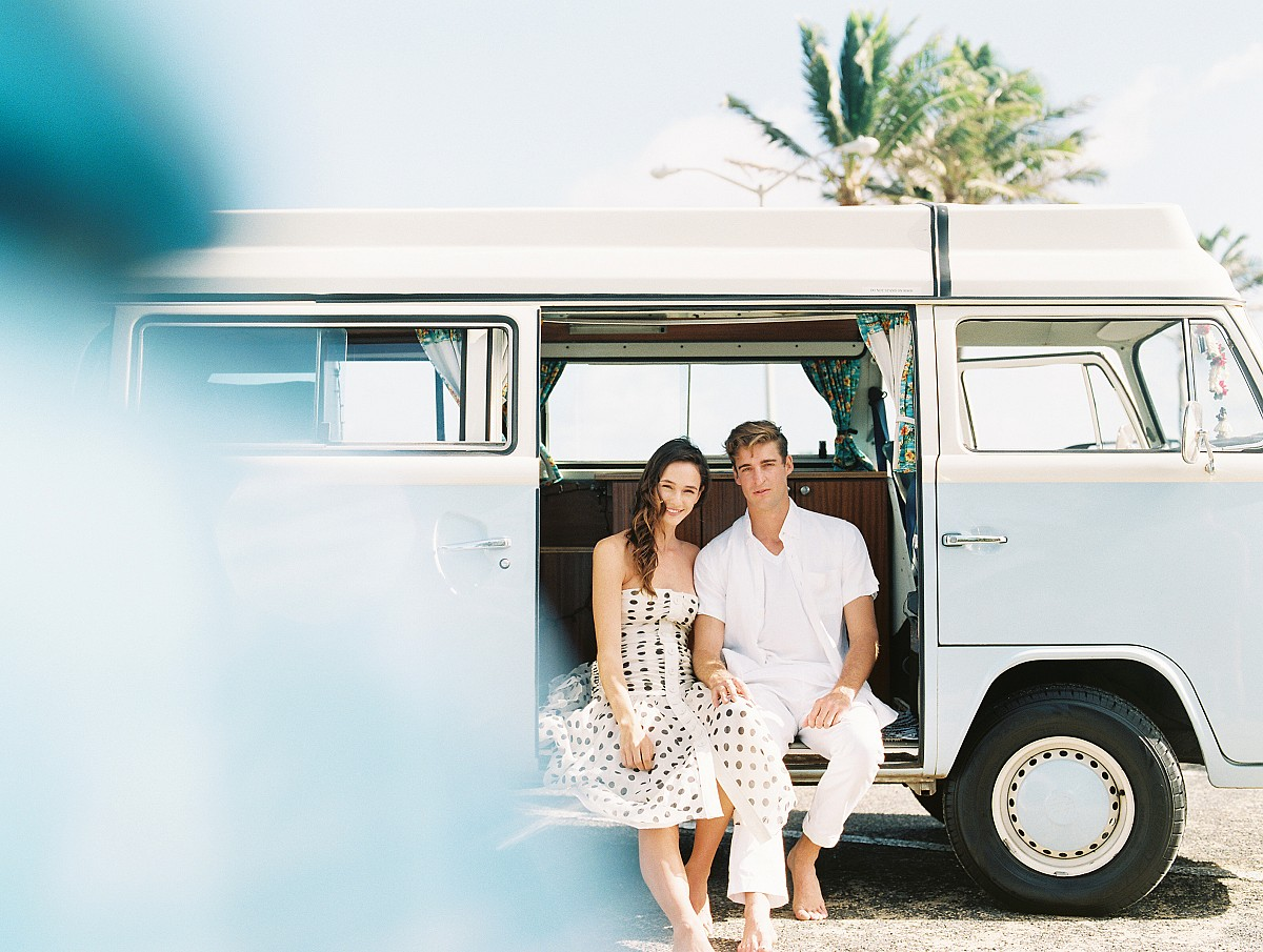 Hawaiian Honeymoon with VW Camper Van