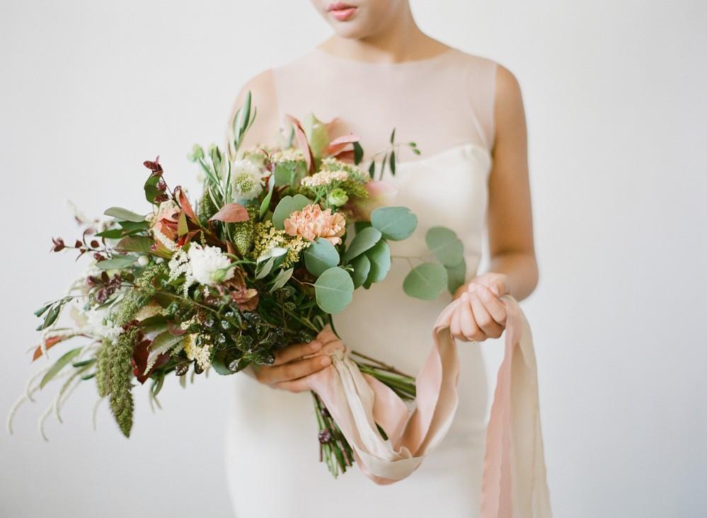Minimalist Bridal Inspiration in Singapore
