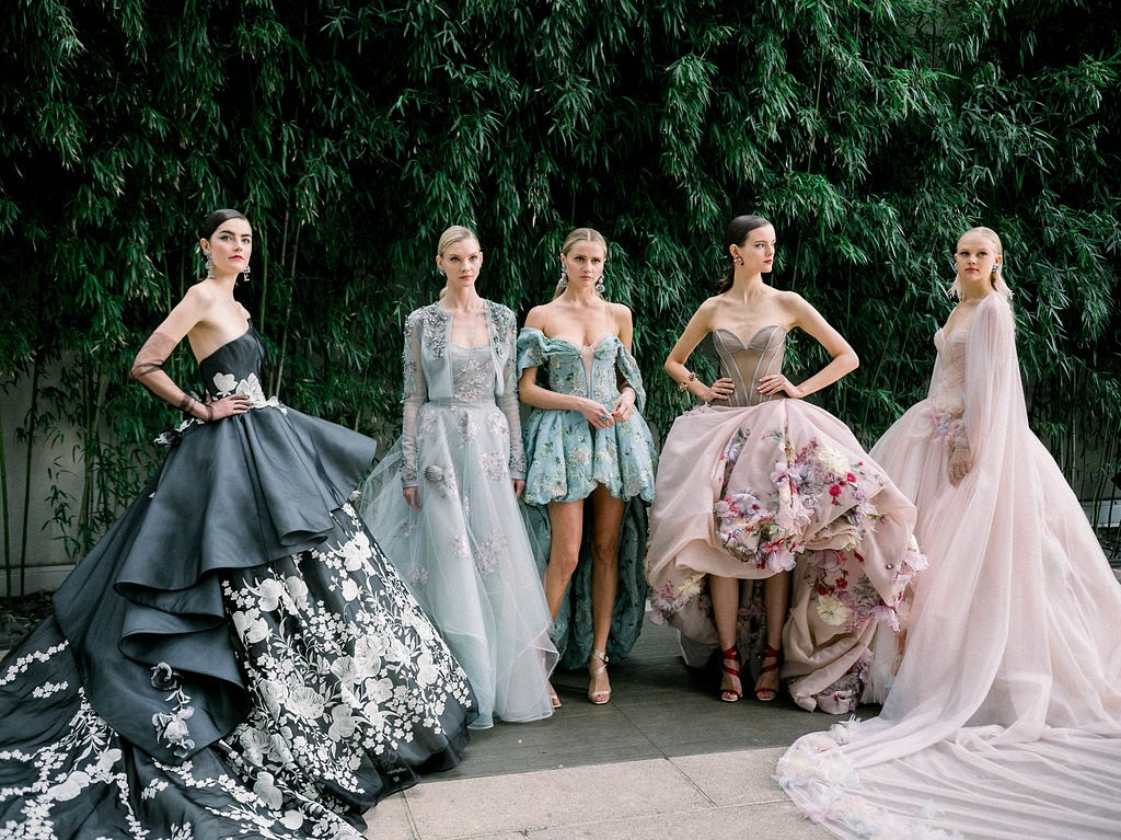16 Best Colored Wedding Dresses From Nybfw 2018