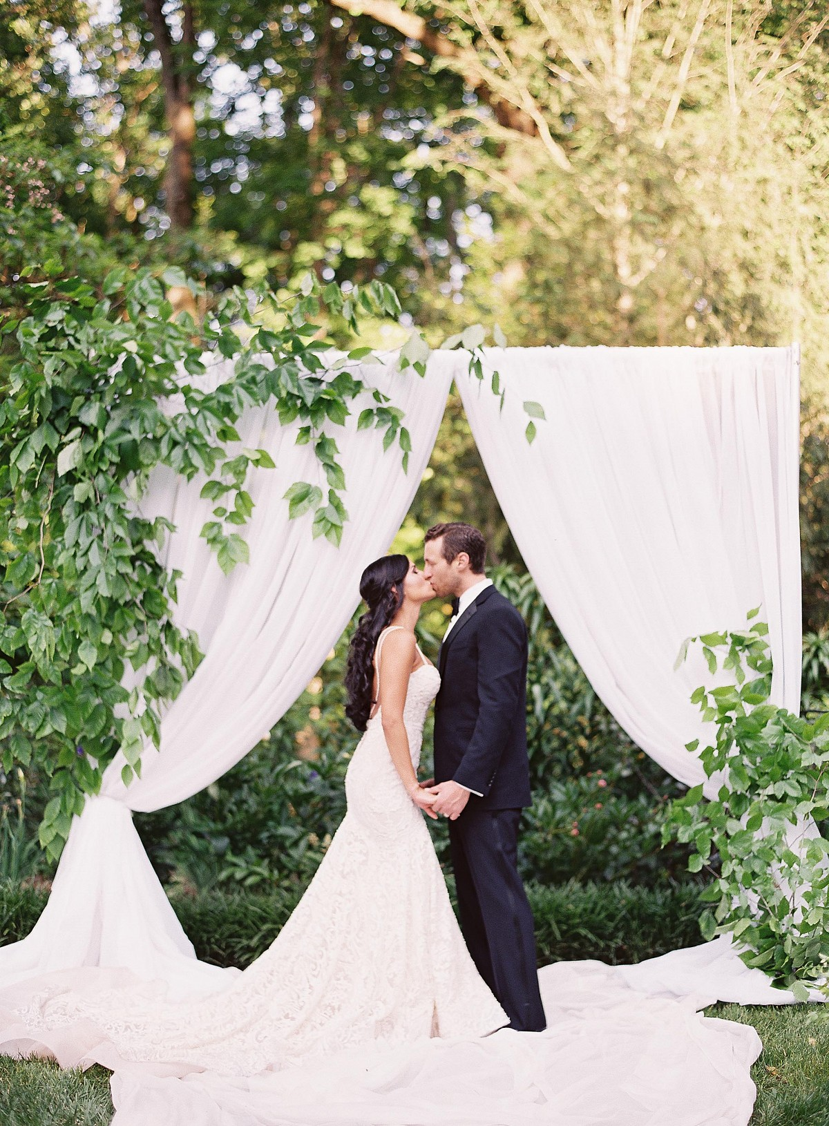 Blush English Garden Wedding