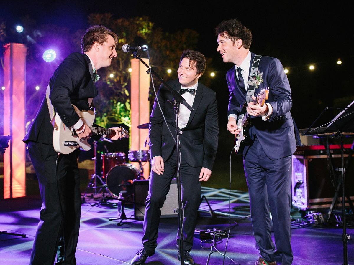 Wombats Singer Matthew Murphy Weds in Marbella