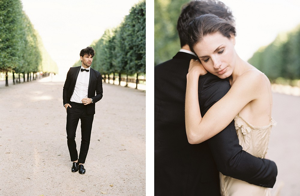 A simple but stunning Parisian elopement by Nicole Colwell | Wedding Sparrow fine art wedding blog