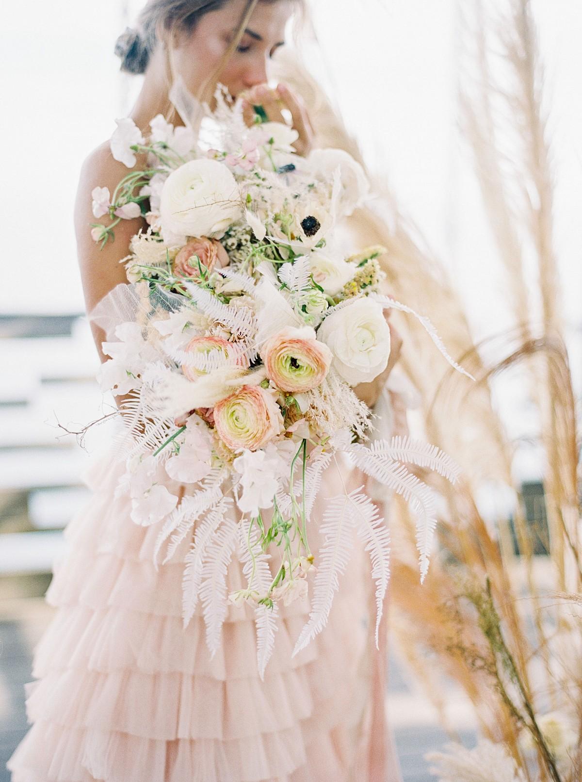 Statement wedding bouquets