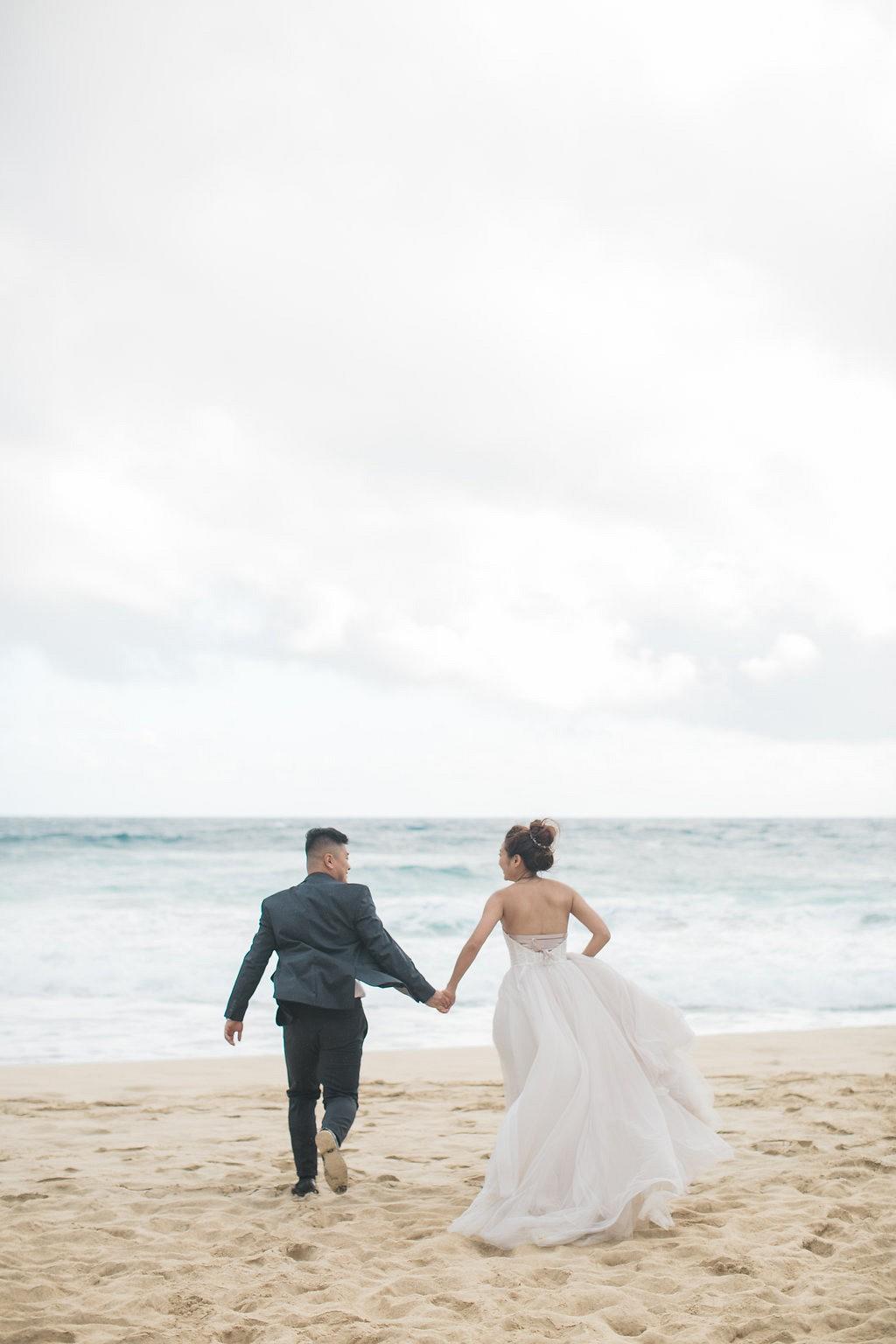 Lin and Hailong's Oahu Island Elopement