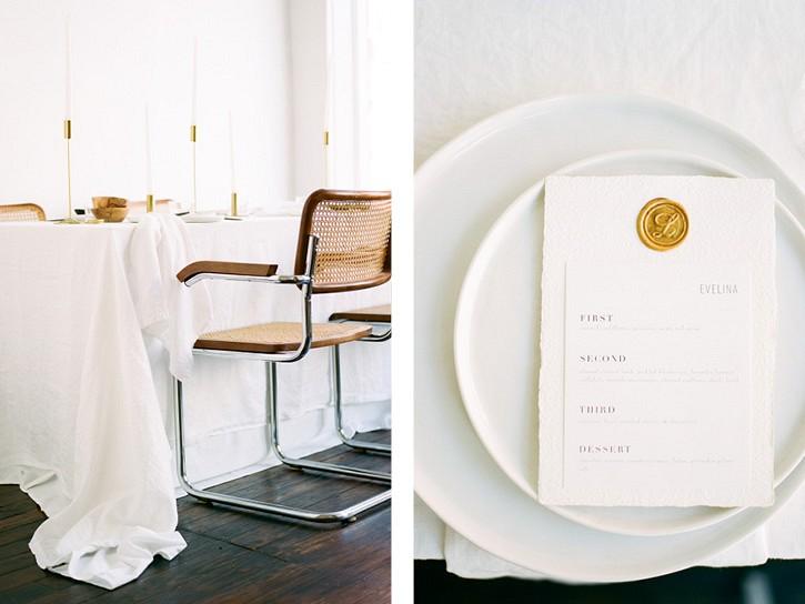 How to Utilise minimalism on your wedding day