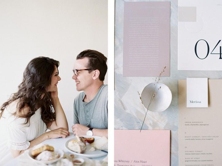 Minimalist Wedding Inspiration for the Hopeless Romantic